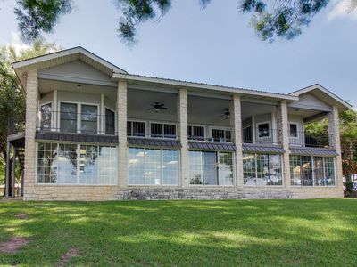 Photo for Dog-friendly waterfront home w/ heated pool, boathouse, and dock w/ boat lift