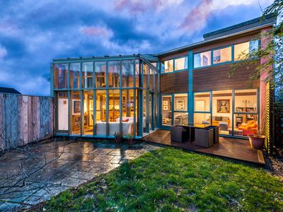 Photo for Architect designed Eco House in small village on the Wye Valley Walk