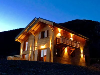 Photo for Homerez last minute deal - Big chalet with terrace and Wifi