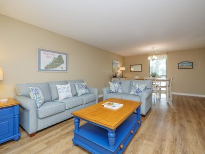 Photo for Cozy ocean oriented town home -  short walk to the beach