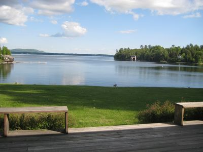Photo for Waterfront Retreat on Lake Champlain