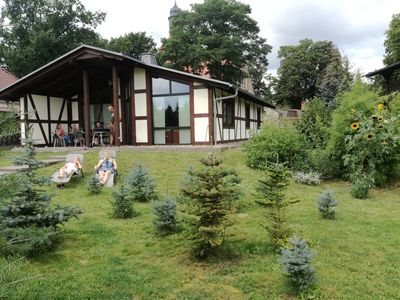 Photo for Holiday house '' DIANA '' in Menkin near Brüssow, with rustic ambience / WLAN