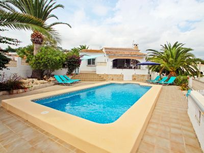 Photo for Paula-3 - holiday home with private swimming pool in Moraira