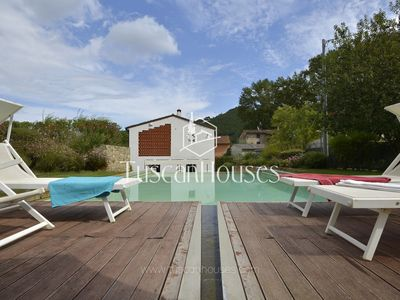 Photo for Modern villa with private swimming pool, Wi-Fi and AC ideal for groups