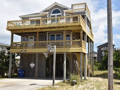 Photo for Mermaids & Marlins Oceanside w/Screened porch, Close to Beach