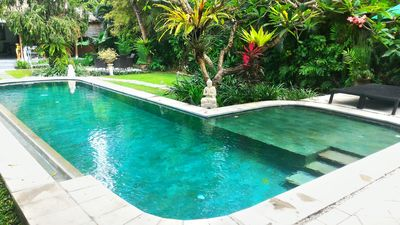 Photo for 11 Bedrooms, 4 Private Pool Villas, Central Seminyak, Beach, Sleeps 22 guests