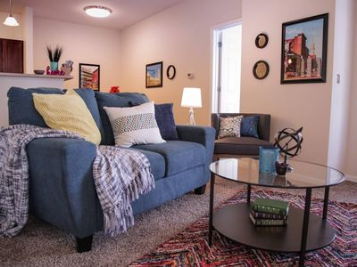 Photo for PICTURESQUE 2BR APT NEAR MASS AVE W/ CITY VIEWS