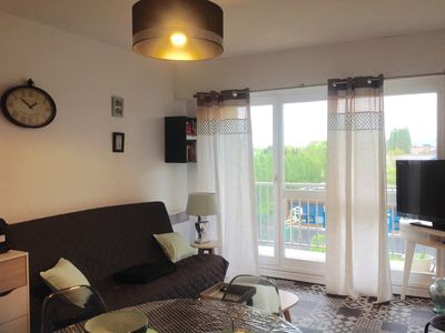 Photo for ❤ *** CABOURG-T2 very equipped, cozy, VERY CLOSE sea and center, balcony and parking