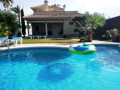 Photo for Family Holiday Villa With Private Pool La Manga Strip, Free WIFI