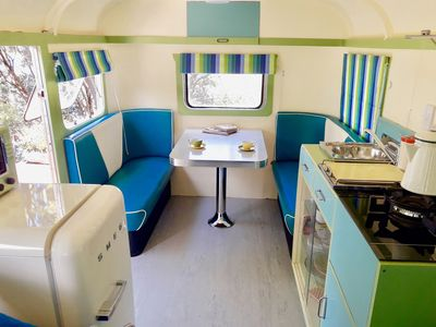 Photo for Fun and Funky - fully restored 1940's handmade caravan