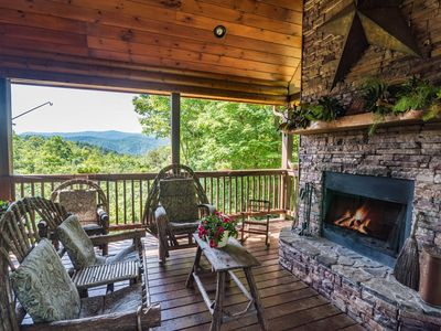 Photo for Mountain Views + Privacy + Luxury Interior = Your Perfect Vacation Spot
