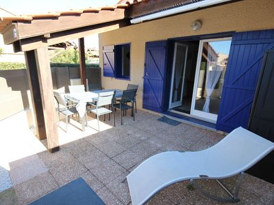 Photo for Really near the sea, nice renovated villa - 5 sleepings -PORTIRAGNES PLAGE