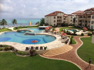 Welcome to the Grand Caribe, voted best resort in Central America.