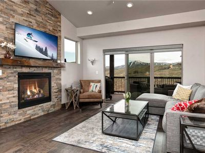 Photo for Luxurious Mountain Retreat; 2 Master Bedrooms - In-Home Theater Room-Pvt Hot Tub