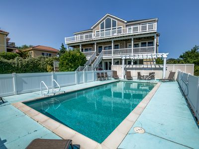 Photo for Sunset Retreat | 1900 ft from the beach | Private Pool, Hot Tub