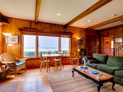 Photo for A cozy Cape Cod oceanfront house w/ sweeping ocean views - steps from the beach