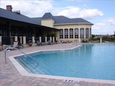 Outdoor Pool.  There is also an indoor pool as well