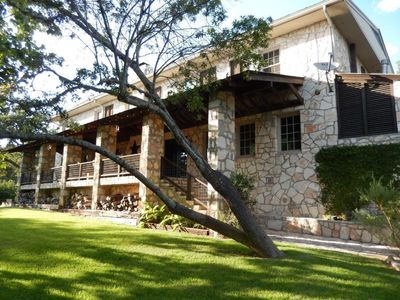Photo for Guadalupe River Executive/Corporate/Family Compound. 8 Bedrooms + Pavilion!