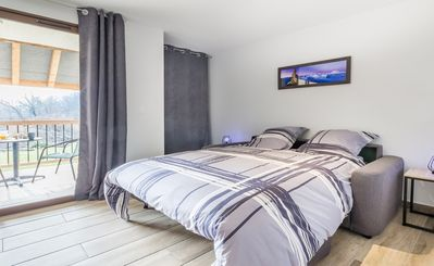 Photo for Superb renovated, modern and warm studio between mountain and countryside