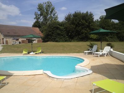 Photo for Spacious Gîte with all modern appliances and a 9x4.2 m pool
