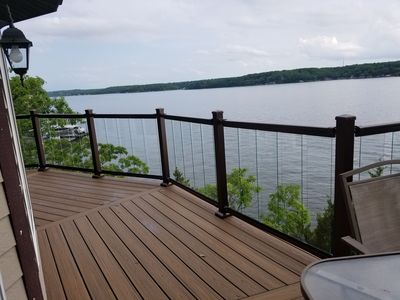Photo for Panoramic View of the Lake BOOK BEFORE 5-15-19 ONLY PAY $600/NT