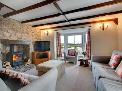 Photo for Hill Cottage is a lovely 3 bedroom semi-detached cottage within a 5 minute walk from the beach and a