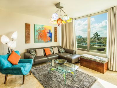 Photo for Mimosa Condo PH32, located in the heart of downtown Playa del Carmen