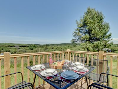 Photo for Cottage in peaceful surroundings of Hartland, offering views of the fishing pond