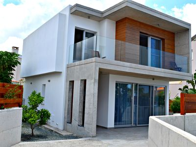 Photo for Coral Bay Ultra Modern 3 Bed Villa Just 5 mins walk to the Beach -Private Pool