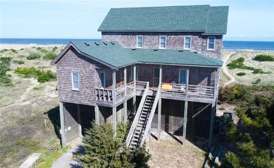 Photo for Picturesque Oceanfront Views in Avon w/ Hot Tub, Media Room, Dog-Friendly