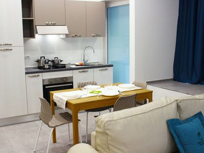 Photo for Three-room deluxe apartment by the sea in Rimini