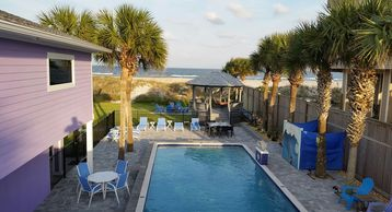 Love Shack Oceanfront 5 Master King Suites Pool Home Sleeps 14