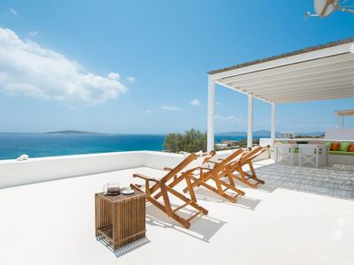 Photo for R772 Seafront Luxury Villa Private Pool Full Air Con