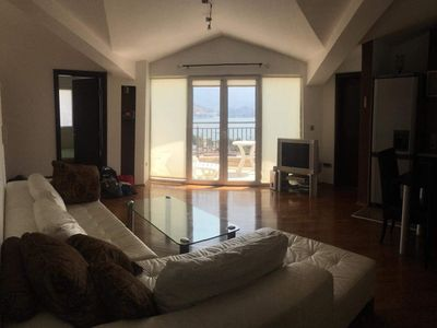 Photo for Apartment overlooking the bay of Budva