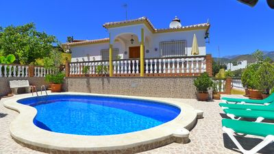 Photo for Charming Country Villa In Nerja With A/C, Wifi & Private Swimming Pool