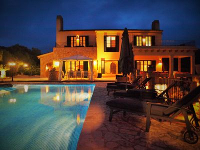 Photo for Finca Via Verde - luxurious Mallorcan mansion - XXL pool & sea view