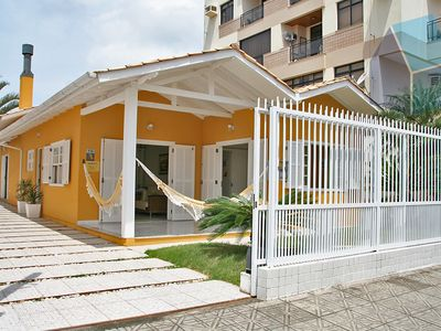 Photo for House with 4 rooms. on the beach of Cachoeira do Bom Jesus / Florianópolis SC