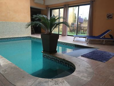 Photo for Large cottage with pool in Lagrasse