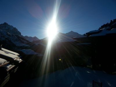 Photo for Méribel-Mottaret, 2 rooms of 27m2, beautiful view due south, ski-in ski-out in 1850