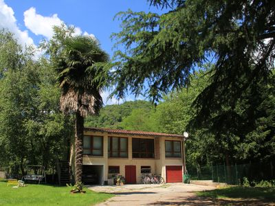 Photo for The House of the Cedars: renovated barn with garden in Fanna (Pn)
