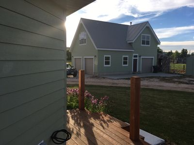Photo for 2 Bedroom Guest House, Above Upstairs Garage in Beautiful St. Charles, ID