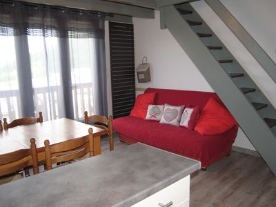 Photo for Apartment 3 bedrooms and balcony for 7pers in cottage St Lary Pla D Adet