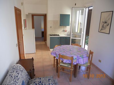 """Photo for """"Arancio"""", a comfortable apartment in a pinewood area a few steps from the sea"""