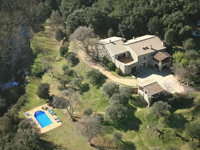 Photo for Now -20% off, 1100m2 stone mansion, huge fenced pool, gamesroom, all top ameniti