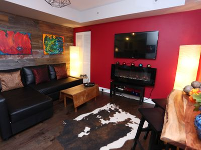 Photo for Beautiful, Artistic Liberty Village 1 bedroom Town Home with Rustic Charm!