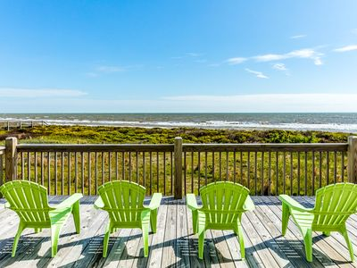 Photo for Inviting, dog-friendly beachfront home w/an outdoor firepit & room for everyone!