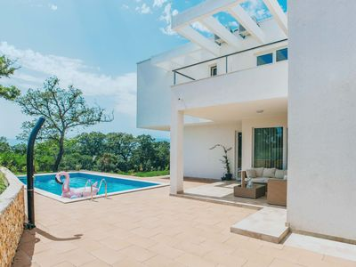 Photo for This 4-bedroom villa for up to 8 guests is located in Rijeka and has a private swimming pool, air-co