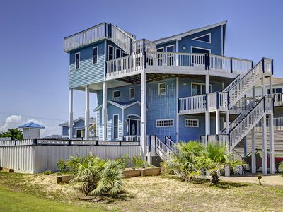 Photo for Ocean View & Access 5 Bedroom Home, Heated Pool Included, Fishing, Pet Friendly