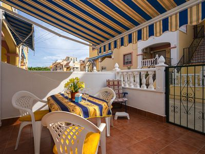 Photo for Rustic apartment in Torrevieja, on the Costa Blanca, Spain  with communal pool for 4 persons
