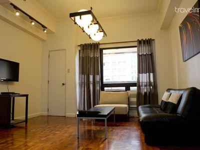 Photo for Roomy 2BDR Apartment in Makati (A1)